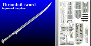 Sword of Thranduil - new template by MorellAgrysis