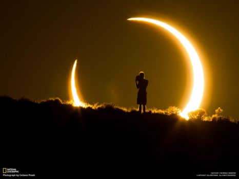 Amazing photo of the recent eclipse by NonStop-Kyo