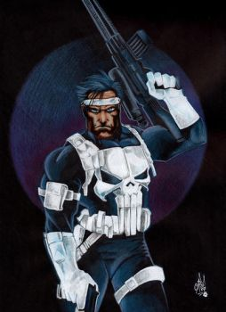 THE PUNISHER by ARTIEFISHEL79