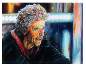 Peter Capaldi Portrait
