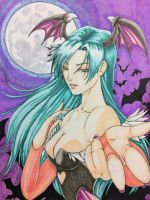 Morrigan Aensland by TheJavman