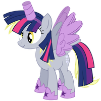 Princess Twilight Costume Vector by GreenMachine987