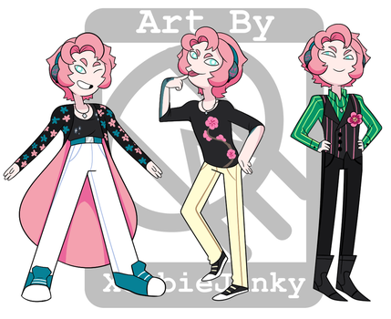 Adventure Time- Lloyd Outfits by XombieJunky