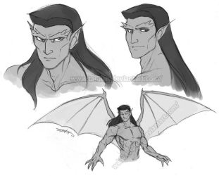 Goliath Doodles by Taralen