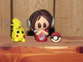 ImmortalKyodai Fan-made Clay Figurines! by JordanVenturian