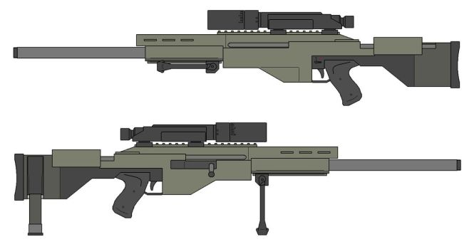 C-143 Sniper Weapons System by The-SKA-King