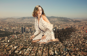 Giantess Emilia Clarke Large and Found by dochamps