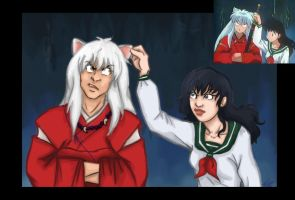 InuYasha Redraw by psycobabble402