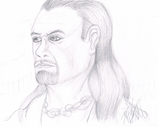 .:[SKETCH] THE UNDERTAKER:. by Maniactheleader