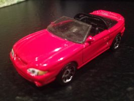 Matchbox Ford Mustang Cobra Convertible by PATyler1