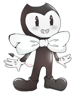 Chibi Bendy by amyrose1513