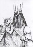 The Witch-King of Angmar by philippeL