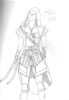 Assassins Creed - Female w/o color by StephDY
