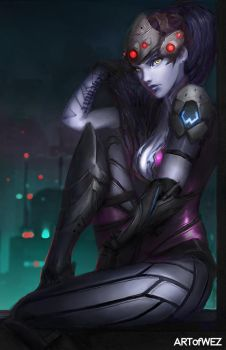 Overwatch - Widowmaker by W-E-Z