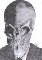 Doctor Who: The Silence Sketch by JOV97