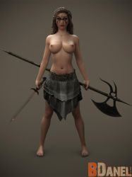 Warrior Topless by BDanel