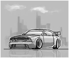 Ford Mustang by Rafta