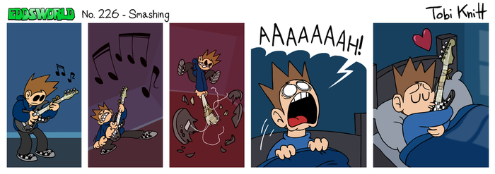 EWCOMIC No. 226 - Smashing by eddsworld