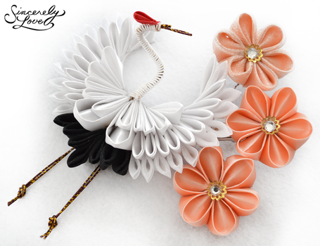 Flight Of Dreams Kanzashi by SincerelyLove