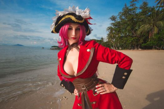 Fate Extra - Francis Drake 01 by Gliese-581