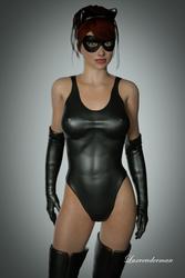 Isobel - Ready for Action! by luxrenderman