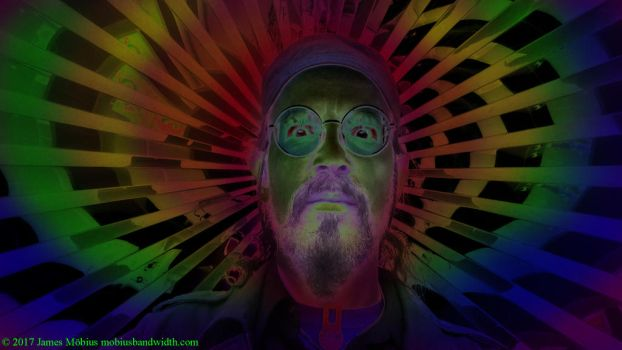 11-17 psychaedelic self portrait by J-Mobius