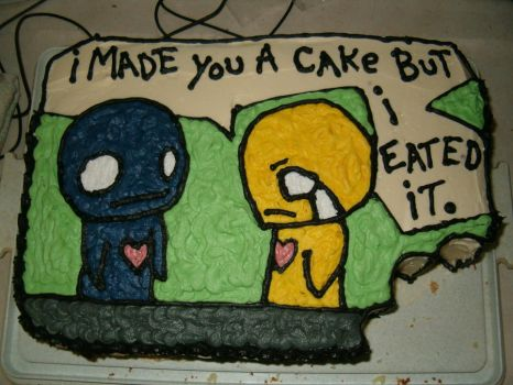 Pon and Zi Cake by Vaehne
