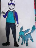 Nick Bluetooth as pokemon trainer by Londonexpofan
