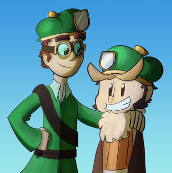 Looks almost like brothers by Tedwin-Knockman66