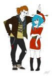 Mike and Sci-gee by 501JOXTER