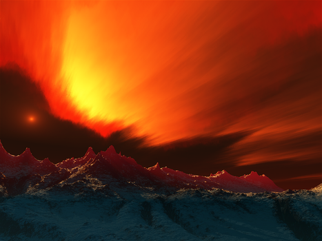 Fire Above, Ice Below by duelt