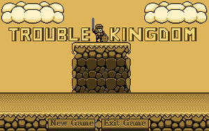 Trouble Kingdom Main menu by OareasO