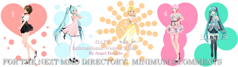 MMD DL Directory 8 [+ Pose Pack DL] by Angela-16