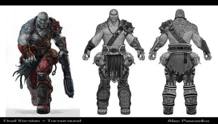 GoW  Locust final and turnaround by AlexPascenko