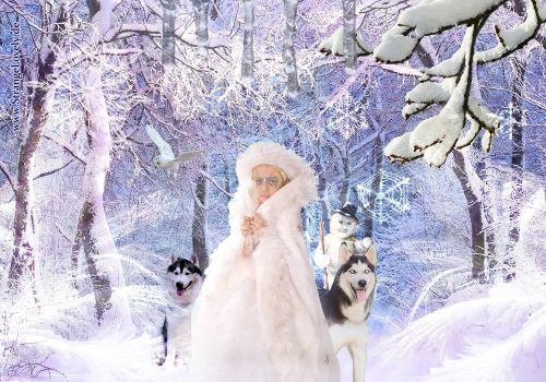 Time to play, for Her Highness, the Ice Princess by StrangeLovely
