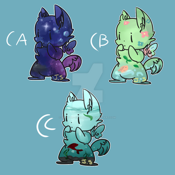 Adoptables! 25 points each (OPEN) by Artistic-Creature12