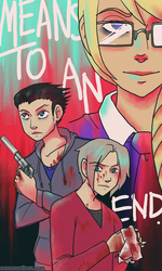 Ace Attorney: Means to an End by BlinkyTheRed