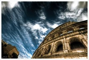 Sky over Rome by Jurnov
