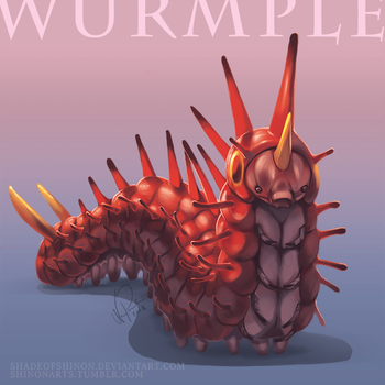 Type Collab: Wurmple by ShadeofShinon