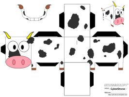 Cubee - Cow by CyberDrone