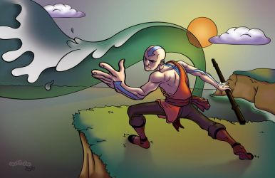 Aang - The Last Airbender by mike-loscalzo