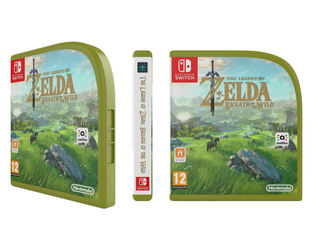 [Mockup] Zelda: BOTW Nintendo  Switch Case by emanon01