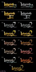 Logos for Labyrinth 2 by Ro-Tine