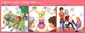 APH: 2 guys and a girl by dejavil