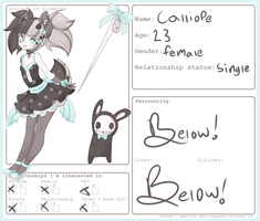 calliope - lockette relationship form by cthonicsquid