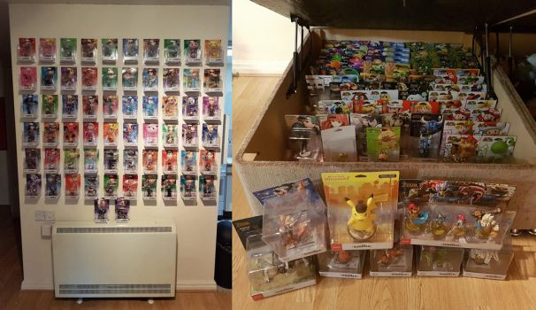 Full Collection Amiibo ish by extraphotos