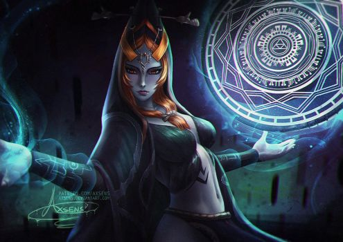 Twili Midna.nsfw optional. by Axsens