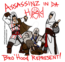 Assassin's Creed Bro-hood by aurigale