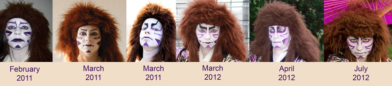 Facepaint through the time by Master-Kankuro