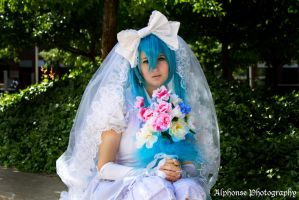 Wedding Hatsune Miku by KyuProduction
